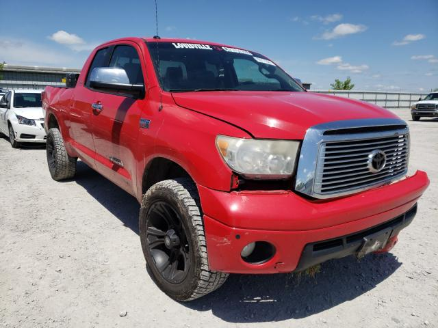 Salvage cars for sale from Copart Walton, KY: 2010 Toyota Tundra DOU