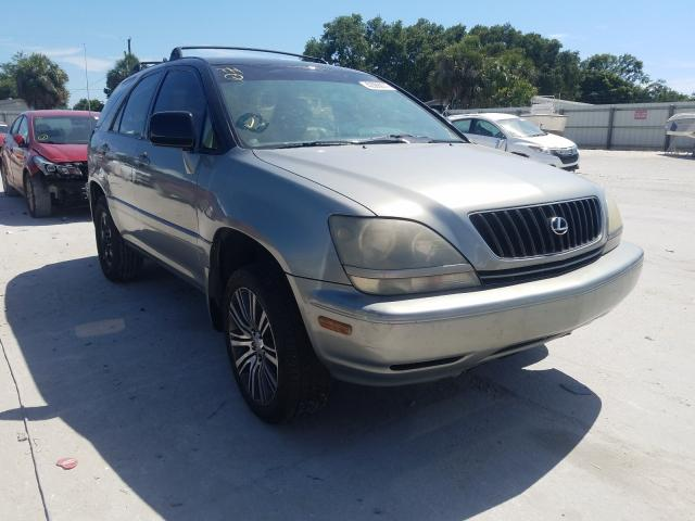 Lexus RX salvage cars for sale: 2000 Lexus RX