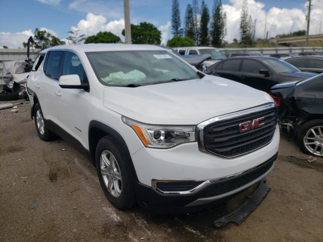 Salvage cars for sale from Copart Miami, FL: 2018 GMC Acadia SLE