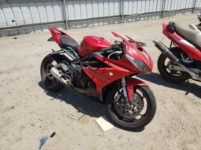 Salvage cars for sale from Copart Bakersfield, CA: 2015 Triumph Daytona 67