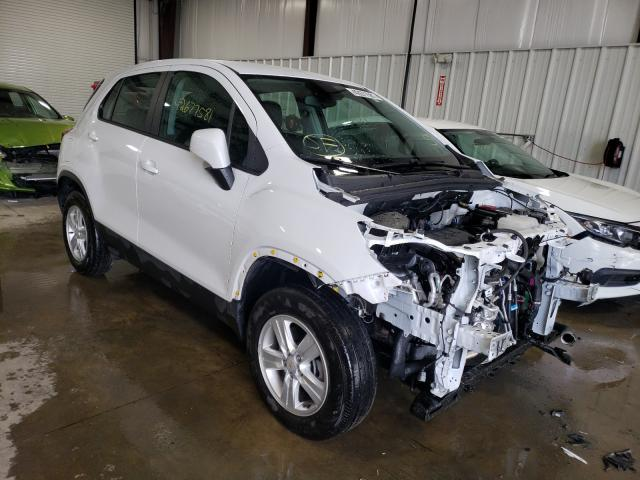 Salvage cars for sale at West Mifflin, PA auction: 2020 Chevrolet Trax LS