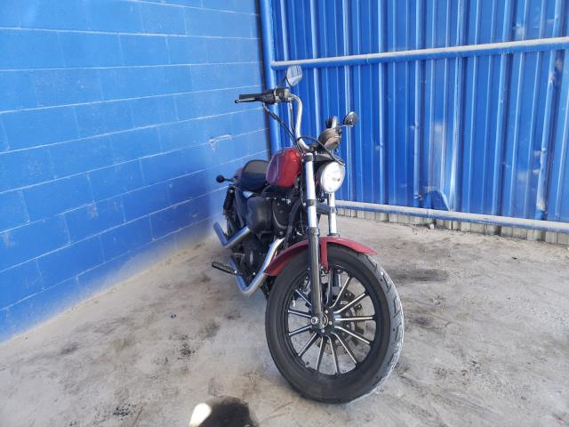 Salvage cars for sale from Copart Cartersville, GA: 2012 Harley-Davidson XL883 Iron