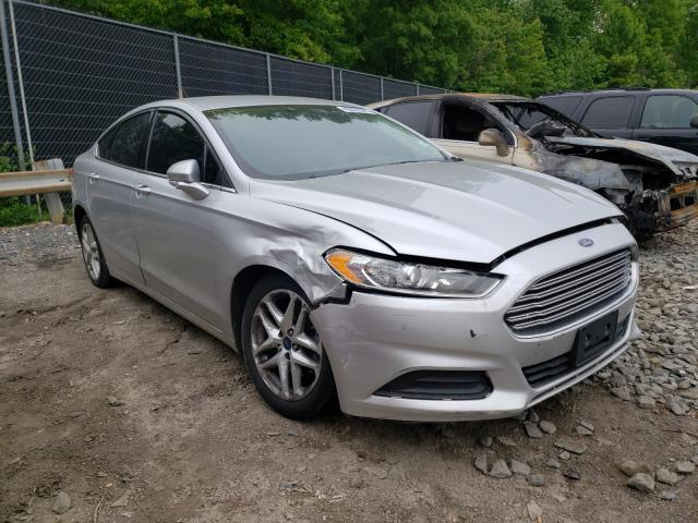 Salvage cars for sale from Copart Waldorf, MD: 2016 Ford Fusion SE