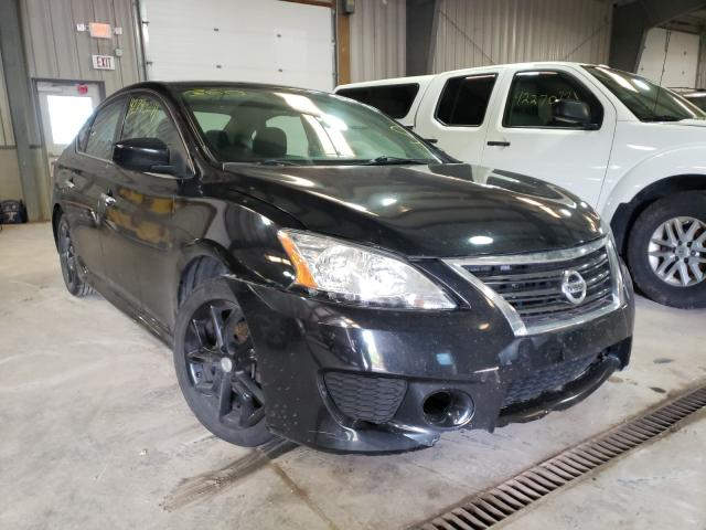 Salvage cars for sale from Copart West Mifflin, PA: 2013 Nissan Sentra S