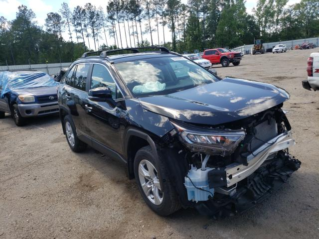 Salvage cars for sale at Harleyville, SC auction: 2020 Toyota Rav4 XLE