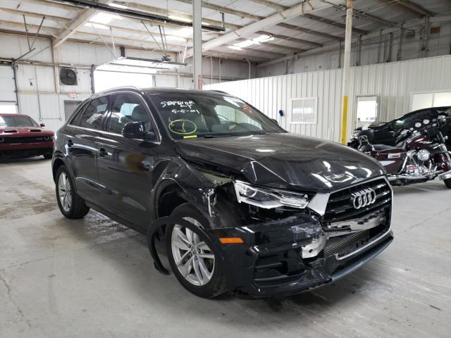 Salvage cars for sale from Copart Dyer, IN: 2017 Audi Q3 Premium