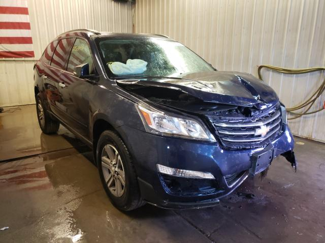 Salvage cars for sale from Copart Avon, MN: 2017 Chevrolet Traverse L