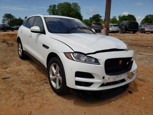 Vehiculos salvage en venta de Copart China Grove, NC: 2019 Jaguar F-PACE Premium