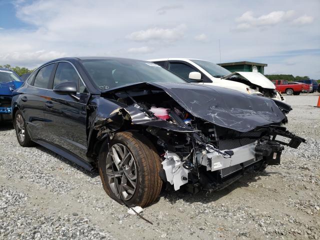 Hyundai salvage cars for sale: 2021 Hyundai Sonata SEL