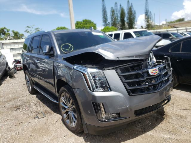 Salvage cars for sale from Copart Miami, FL: 2020 Cadillac Escalade L