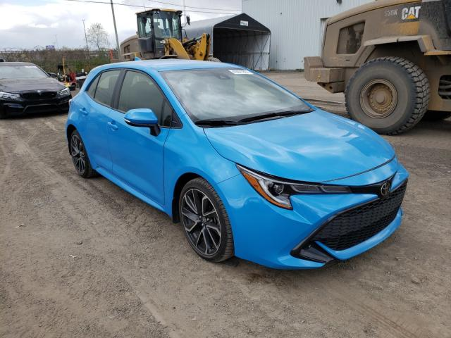 Salvage cars for sale from Copart Montreal Est, QC: 2019 Toyota Corolla SE
