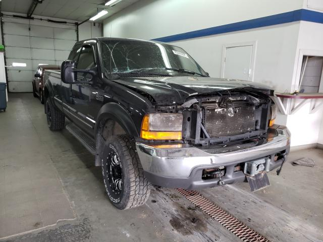 Salvage cars for sale from Copart Pasco, WA: 2000 Ford F250 Super