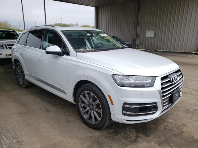 Salvage cars for sale from Copart Fort Wayne, IN: 2019 Audi Q7 Premium