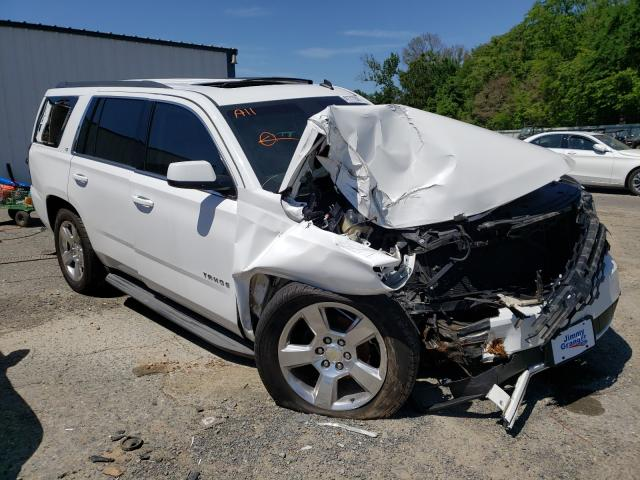 Salvage cars for sale from Copart Shreveport, LA: 2015 Chevrolet Tahoe C150