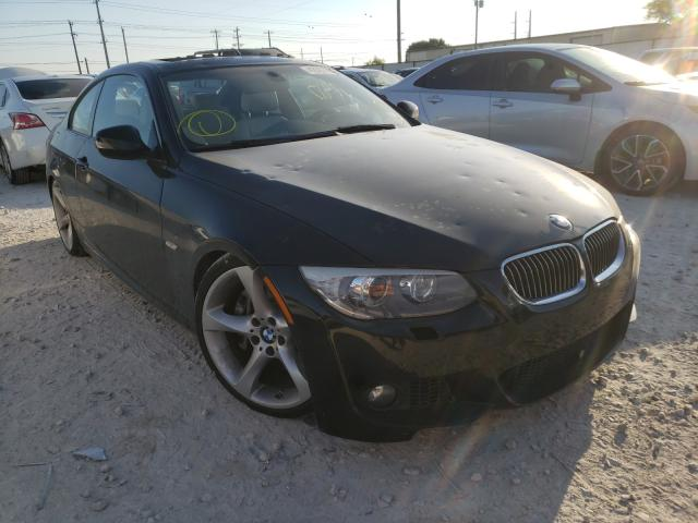 Salvage cars for sale at Haslet, TX auction: 2011 BMW 335 I