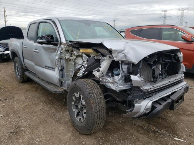 Salvage cars for sale from Copart Elgin, IL: 2021 Toyota Tacoma DOU
