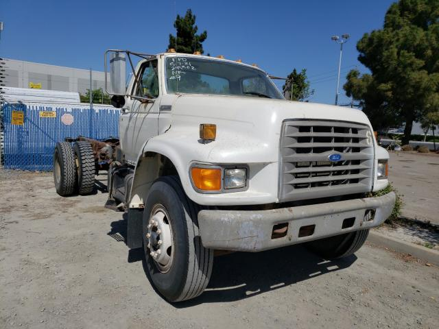 Salvage cars for sale from Copart Hayward, CA: 1995 Ford F700