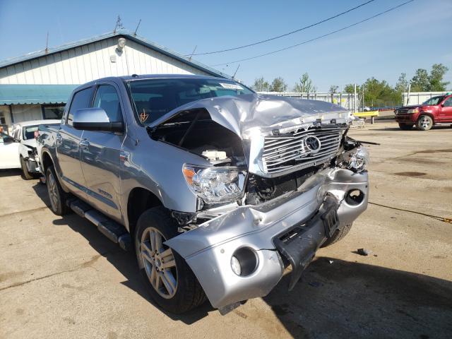 Salvage cars for sale from Copart Pekin, IL: 2013 Toyota Tundra CRE