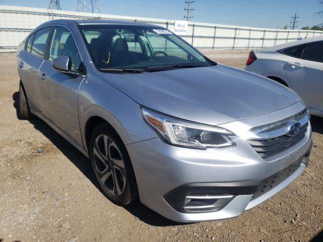 Salvage cars for sale from Copart Elgin, IL: 2021 Subaru Legacy LIM