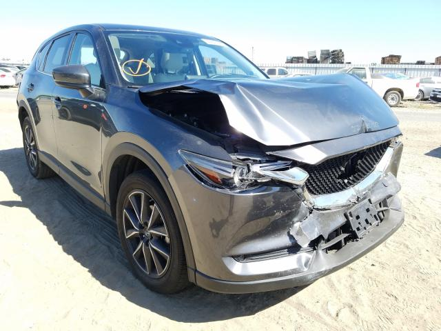 Salvage cars for sale from Copart Fresno, CA: 2018 Mazda CX-5 Grand Touring