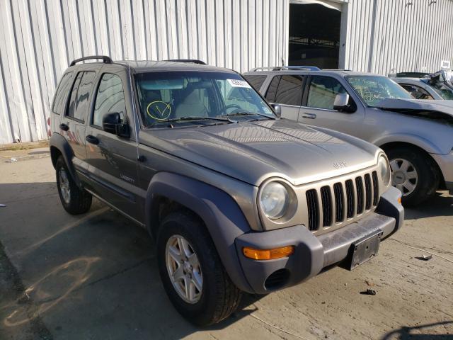 Jeep Vehiculos salvage en venta: 2004 Jeep Liberty SP