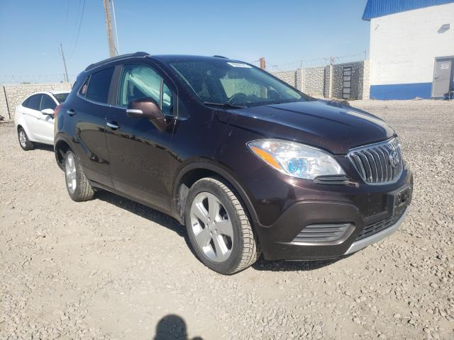 Buick salvage cars for sale: 2016 Buick Encore