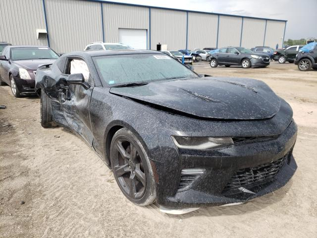 Salvage cars for sale from Copart Apopka, FL: 2018 Chevrolet Camaro SS