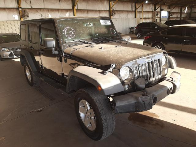 Salvage cars for sale from Copart Phoenix, AZ: 2016 Jeep Wrangler U