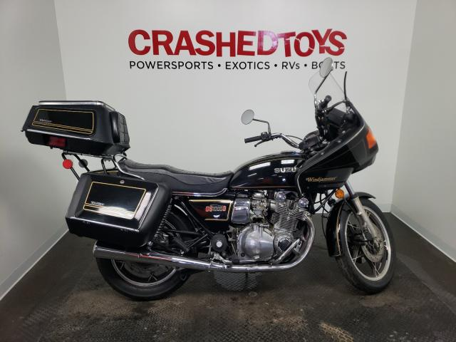 Salvage motorcycles for sale at Ham Lake, MN auction: 1980 Suzuki GS 1000