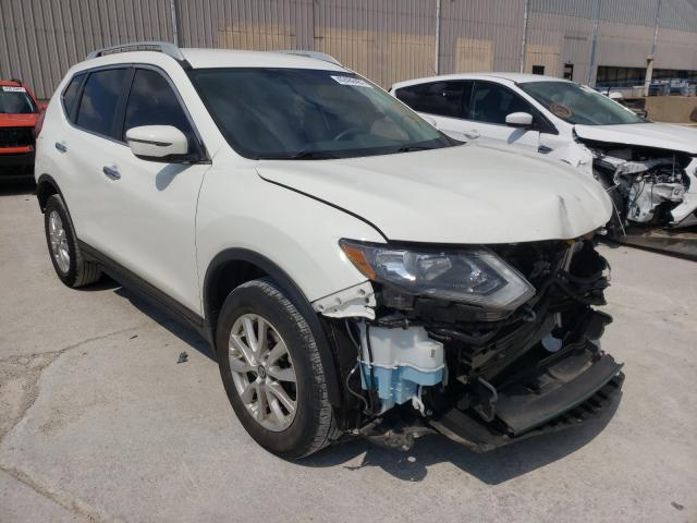 Salvage cars for sale from Copart Lawrenceburg, KY: 2017 Nissan Rogue SV