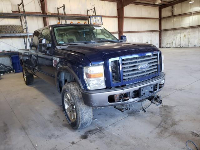 Salvage cars for sale from Copart Eldridge, IA: 2008 Ford F250 Super