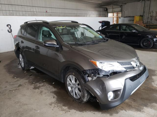 Salvage cars for sale from Copart Candia, NH: 2015 Toyota Rav4 Limited