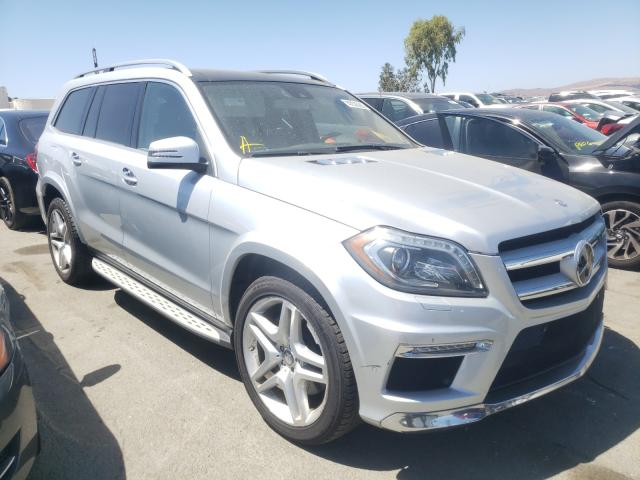 Mercedes-Benz salvage cars for sale: 2013 Mercedes-Benz GL 550 4matic