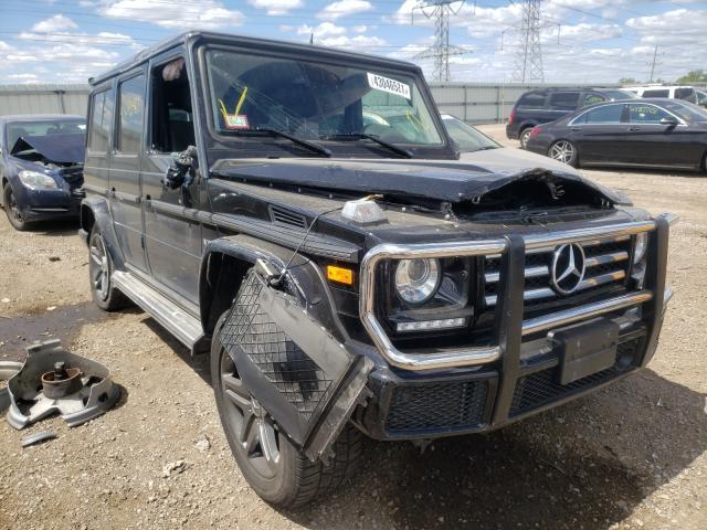 Mercedes-Benz salvage cars for sale: 2016 Mercedes-Benz G 550