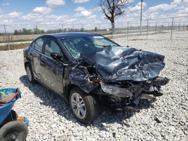 Salvage 2018 CHEVROLET CRUZE - Small image. Lot 42956201