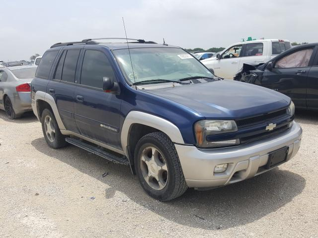 Salvage cars for sale from Copart San Antonio, TX: 2004 Chevrolet Trailblazer