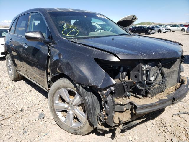 Salvage cars for sale from Copart Magna, UT: 2011 Acura MDX Techno