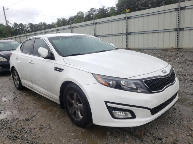 Salvage cars for sale from Copart Ellenwood, GA: 2014 KIA Optima LX