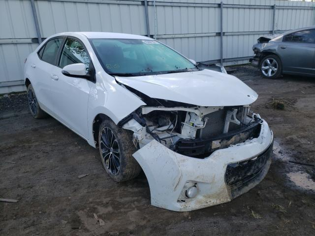 Salvage cars for sale from Copart Columbia Station, OH: 2016 Toyota Corolla L