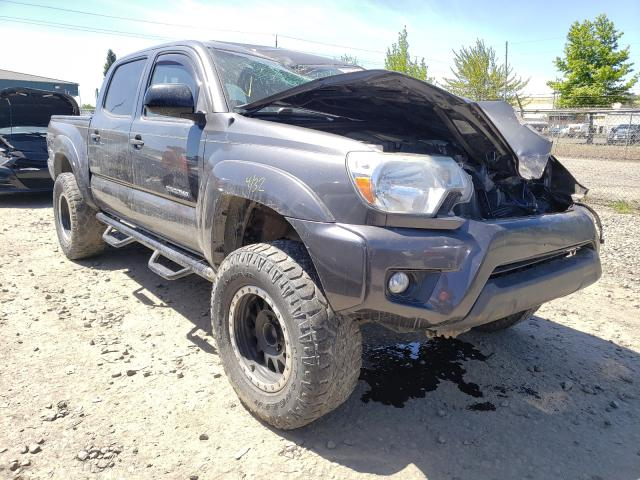 Salvage cars for sale from Copart Eugene, OR: 2013 Toyota Tacoma DOU