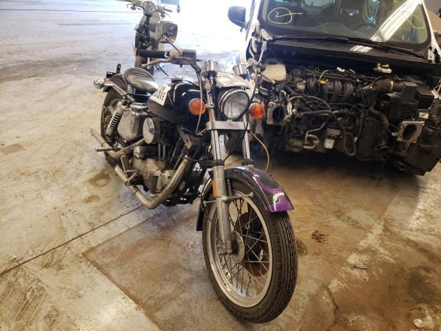 Harley-Davidson salvage cars for sale: 1976 Harley-Davidson Sportster