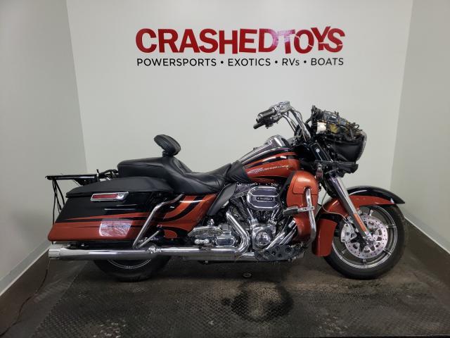 Harley-Davidson Fltruse CV salvage cars for sale: 2015 Harley-Davidson Fltruse CV