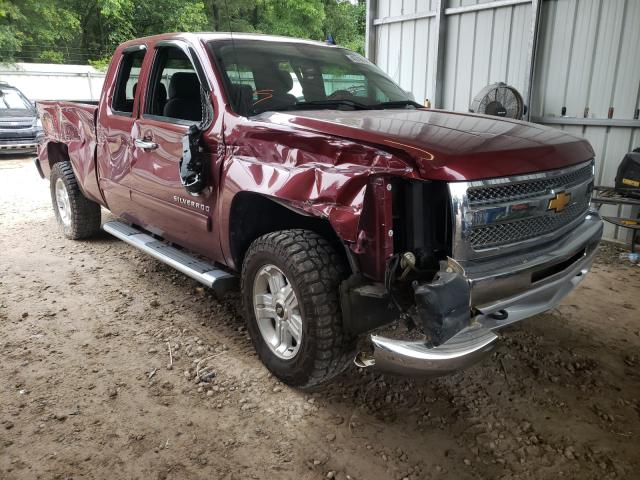 Salvage cars for sale from Copart Midway, FL: 2013 Chevrolet Silverado
