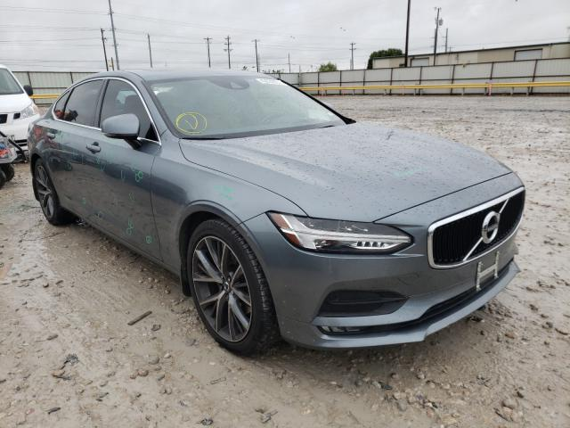 Salvage cars for sale at Haslet, TX auction: 2018 Volvo S90 T5 MOM