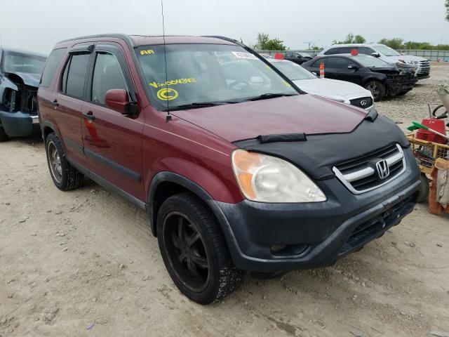 Salvage cars for sale from Copart Kansas City, KS: 2003 Honda CR-V EX