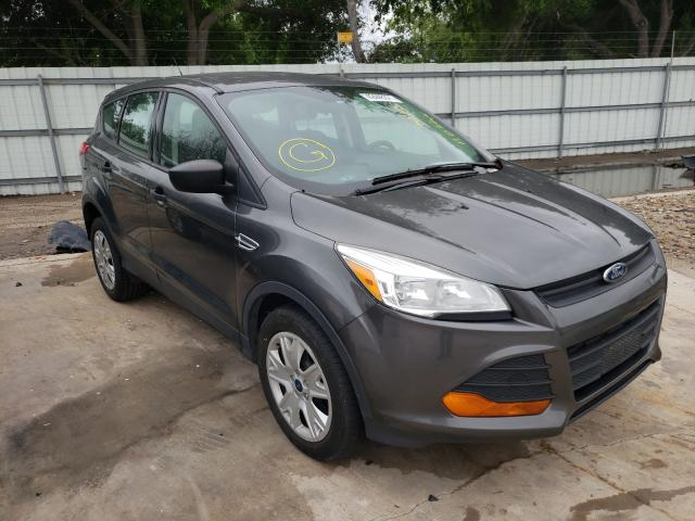 Salvage cars for sale from Copart Corpus Christi, TX: 2015 Ford Escape S