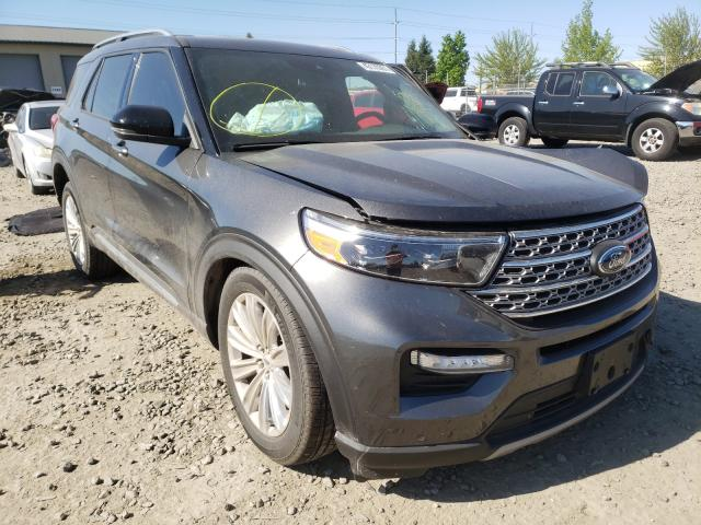 Salvage cars for sale from Copart Eugene, OR: 2020 Ford Explorer L