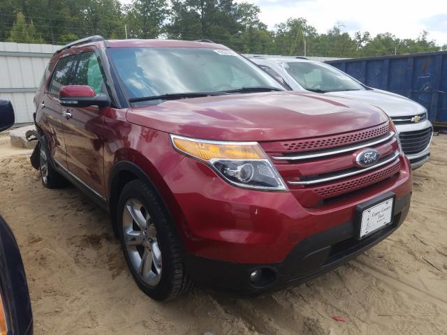 Vehiculos salvage en venta de Copart Gaston, SC: 2015 Ford Explorer L