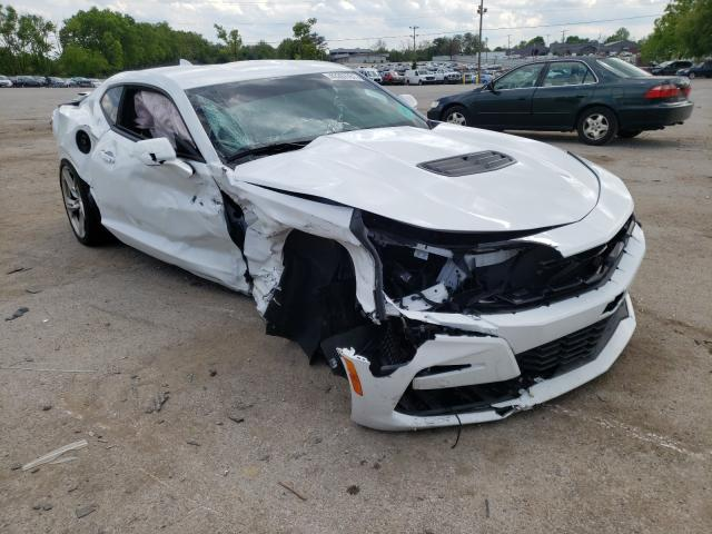 Salvage cars for sale from Copart Lexington, KY: 2019 Chevrolet Camaro SS