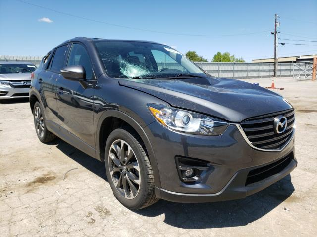 Salvage cars for sale from Copart Lexington, KY: 2016 Mazda CX-5 GT